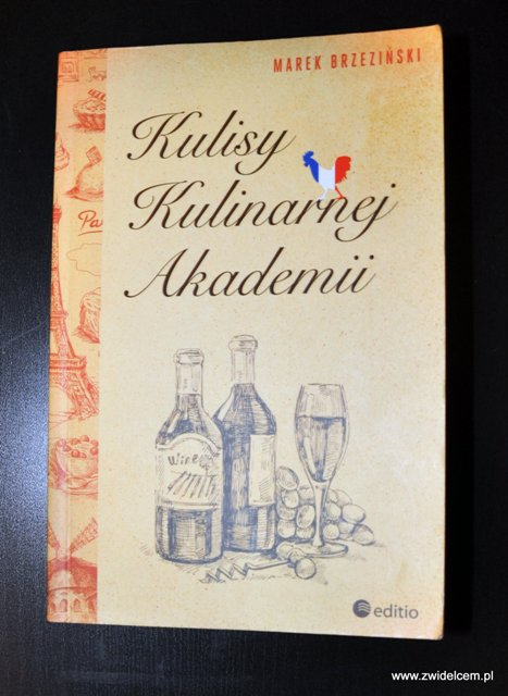 Kulisy Kulinarnej Akademii okladka
