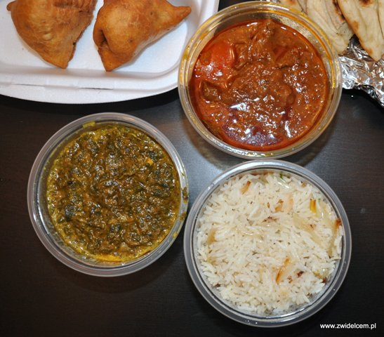 Hot Chili - lamb curry i chicken palak