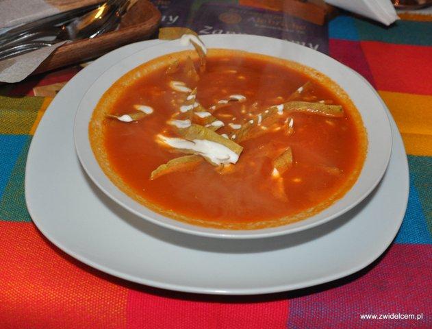 Alebriche - zupa aztecka