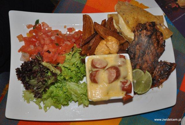 Alebriche - Carne enchilada - od góry