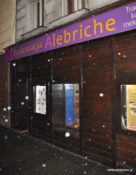 Alebriche - wejście