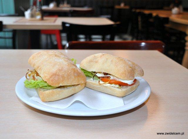 Milkbar panini z mozarella