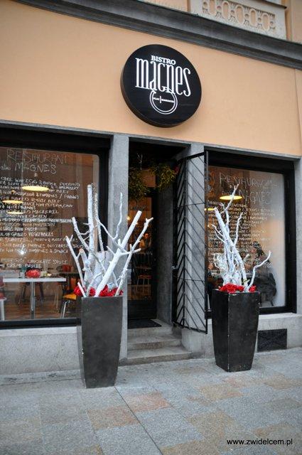 Bistro Magnes - wejście