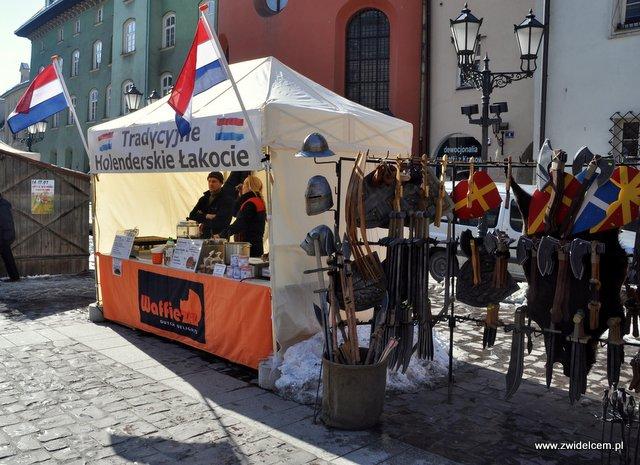 Kraków - Festyn Wiosenny Mały Rynek - holenderskie łakocie
