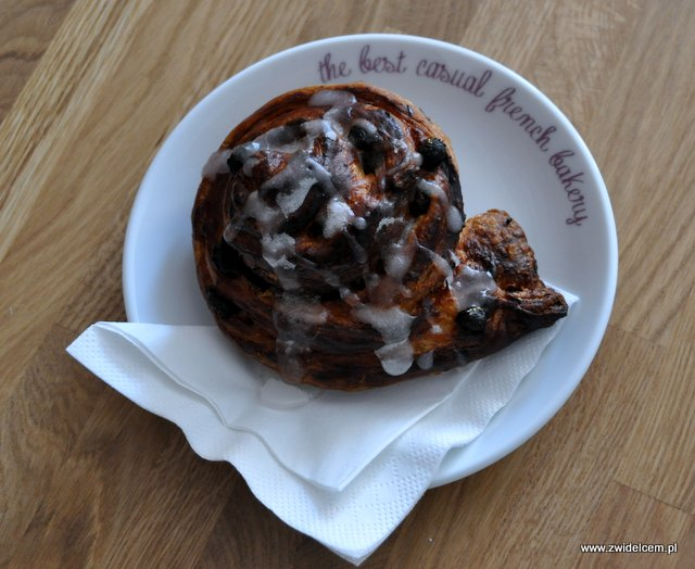 Kraków - Bonjour CaVa - pains aux raisins