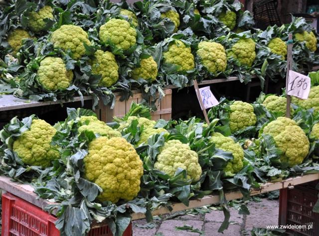 Palermo - Ballaro market - warzywa