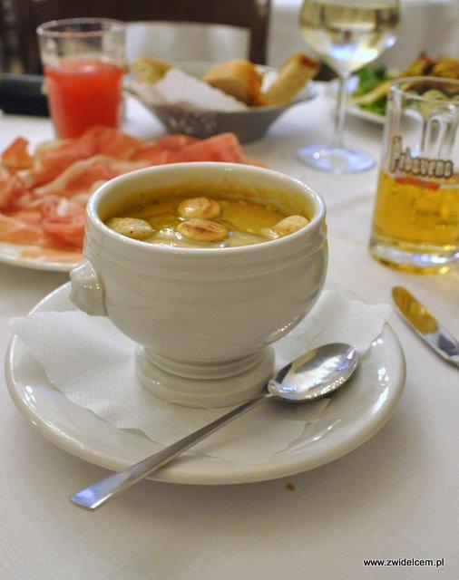 Parma - Trattoria Ronzoni - zupa z ciecierzycy