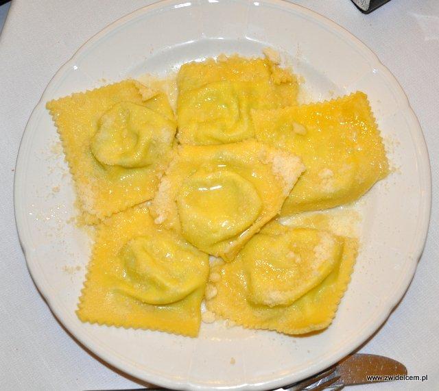 Parma - Trattoria Ronzoni - tortelli erbette