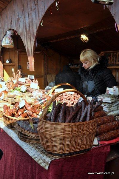 Kraków - Kiermasz Wielkanocny - wędliny litewskie