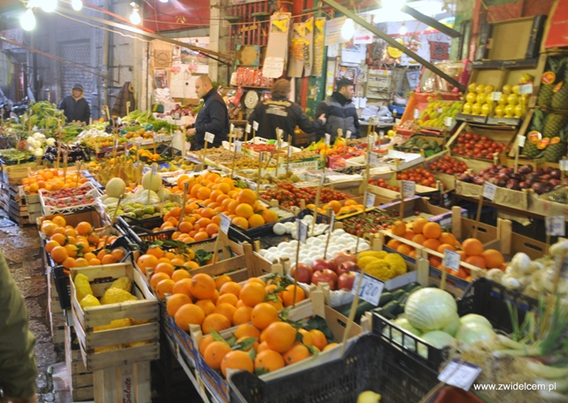 Palermo - Vucciria market - owoce