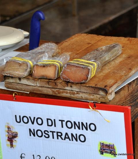 Palermo - Vucciria market - bottarga z tuńczyka