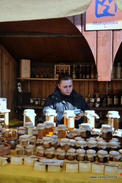 Kraków – Kiermasz Wielkanocny – miody z Malopolski