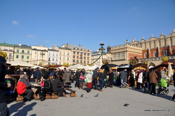 Kraków – Kiermasz Wielkanocny – widok
