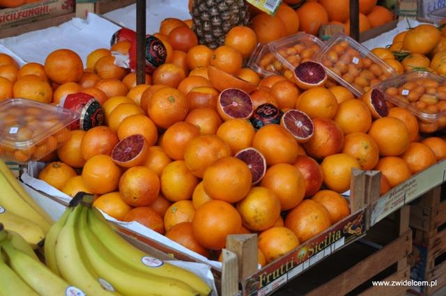 Palermo - Capo market - pomarańcze