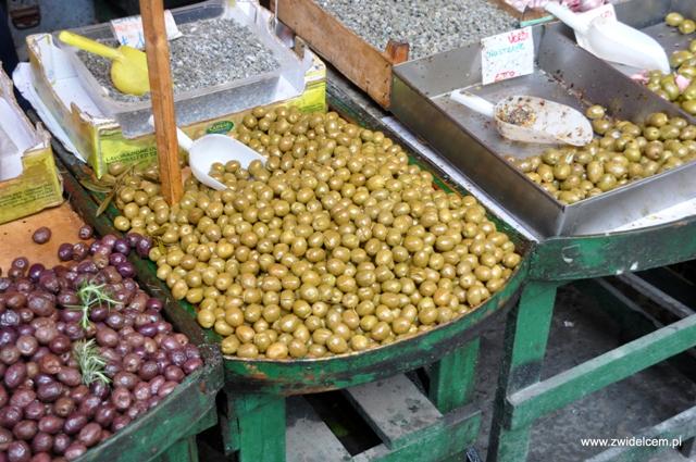 Palermo - Capo market - oliwki