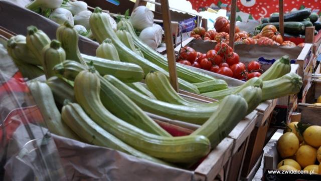 Palermo - Capo market - cukinie