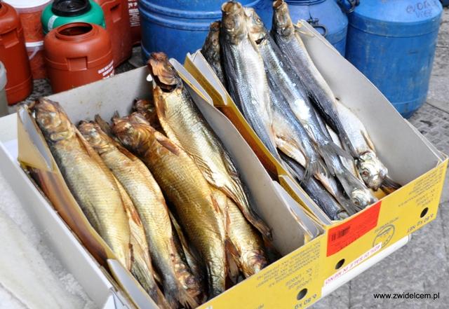 Palermo - Capo market - wędzone ryby