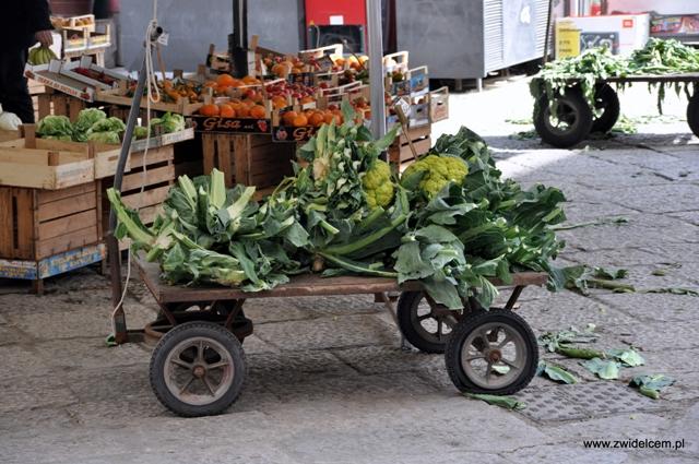 Palermo - Capo market - wózek