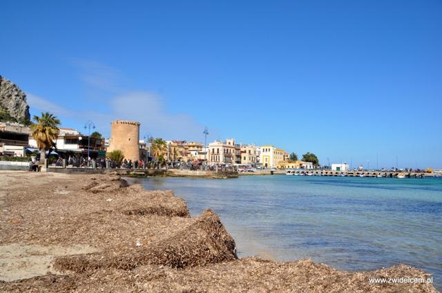 Palermo - Mondello - plażą
