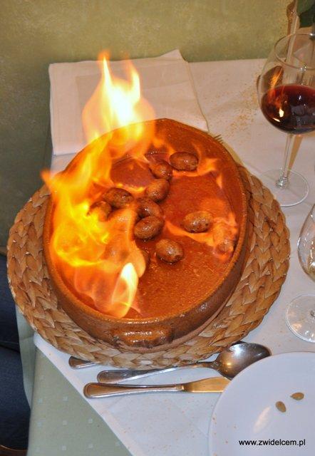 Casa Juan - płonące kiełbaski chorizo - zdjęcie 2