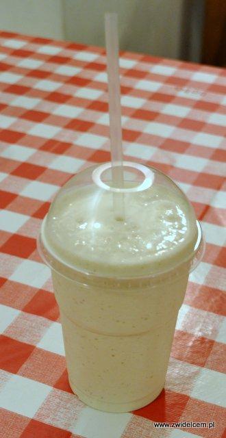 Kraków - Moaburger - milkshake