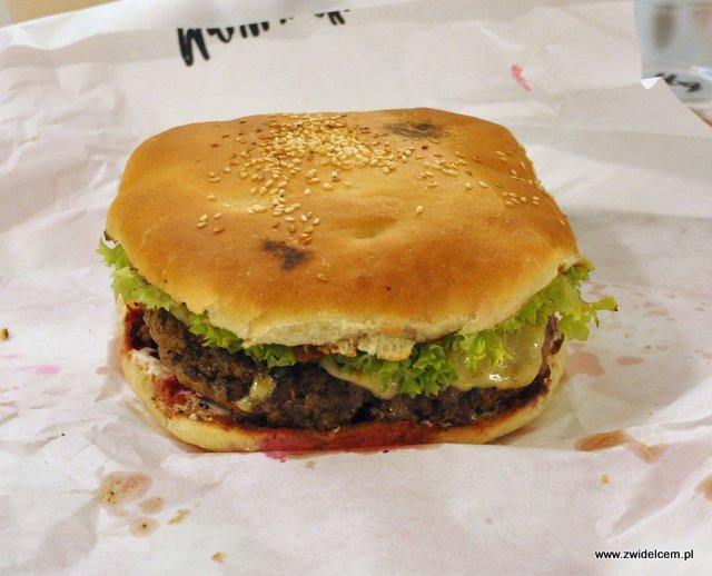 Kraków - Moaburger - Mammoth Burger zamknięty