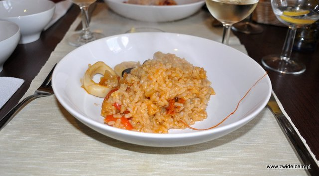 Kraków - Valparaiso - paella porcja
