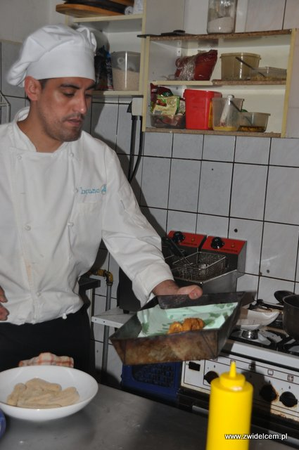 Kraków - Valparaiso - warsztaty tapas - pierwsza porcja kalmarów