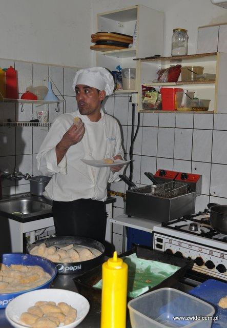 Kraków - Valparaiso - warsztaty tapas - smażymy krokiety