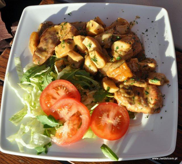 Pomodorino – Polędwiczki Wieprzowe w sosie z Prawdziwków - od góry