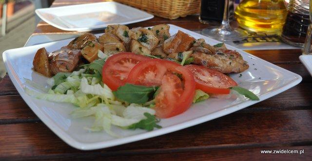 Pomodorino - Polędwiczki Wieprzowe w sosie z Prawdziwków