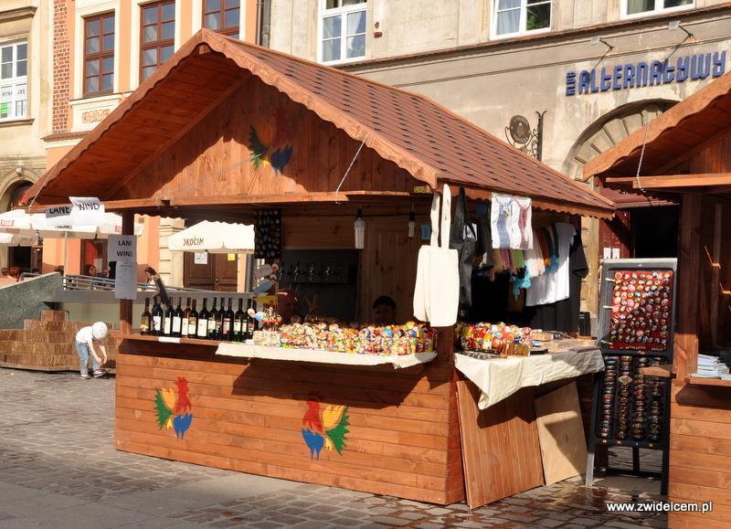 Kraków - Mały Rynek - Dni Węgrzyna - wino i matrioszki