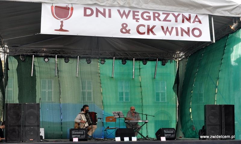 Kraków - Mały Rynek - Dni Węgrzyna - scena