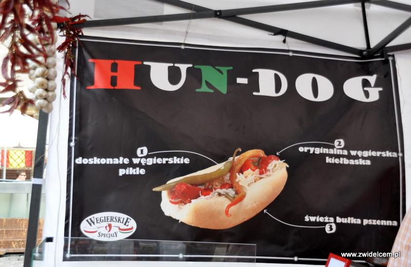 Kraków - Mały Rynek - Dni Węgrzyna - Hun-dog banner
