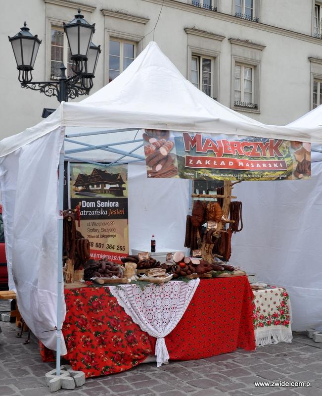 Kraków - Mały Rynek - Dni Węgrzyna - zakład masarski Majerczyk