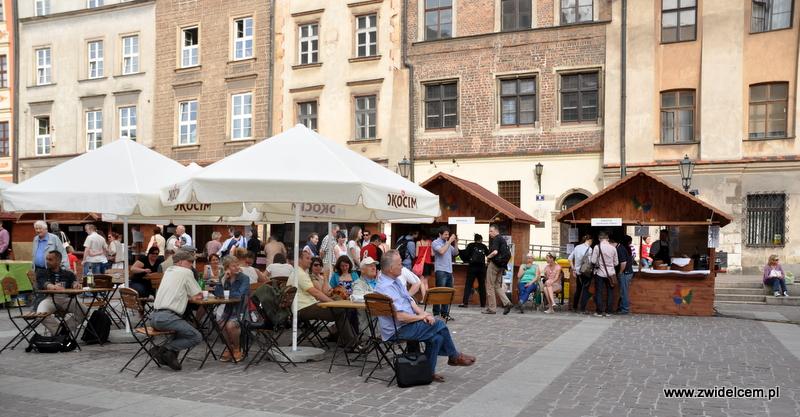 Kraków - Mały Rynek - Dni Węgrzyna - panorama