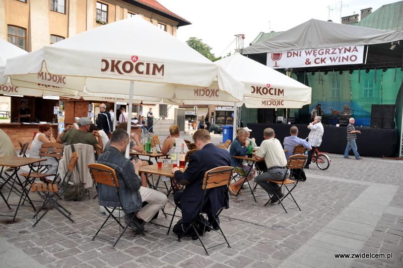 Kraków - Mały Rynek - Dni Węgrzyna - ogródek
