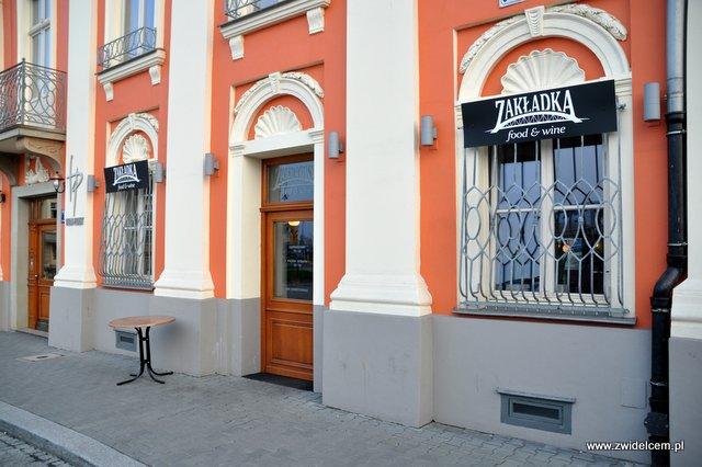 Kraków - Zakładka - wejście od Wisły