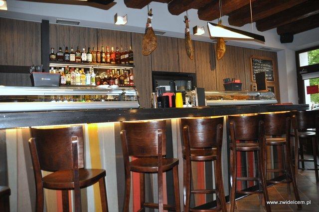 Kraków - El Toro - bar z krzesłami