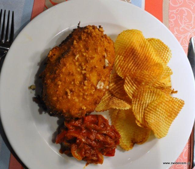 Kraków - El Toro - kurczak z chipsami