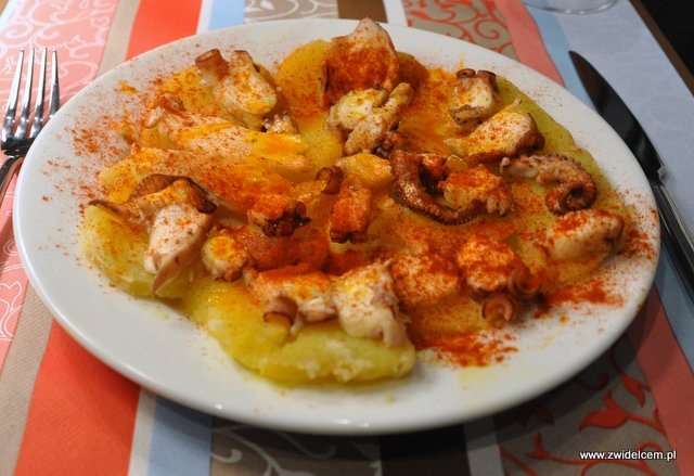 Kraków - El Toro - ośmiornica z ziemniakami