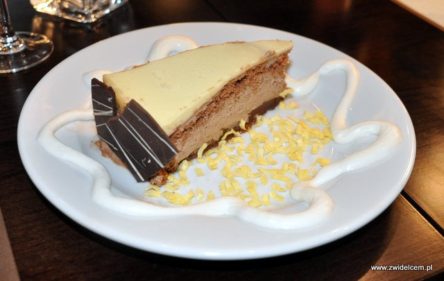 Kraków - El Toro - tarta trzy czekolady 2