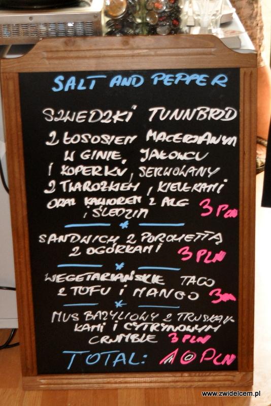 Kraków - Najedzeni Fest! - Salt and Pepper