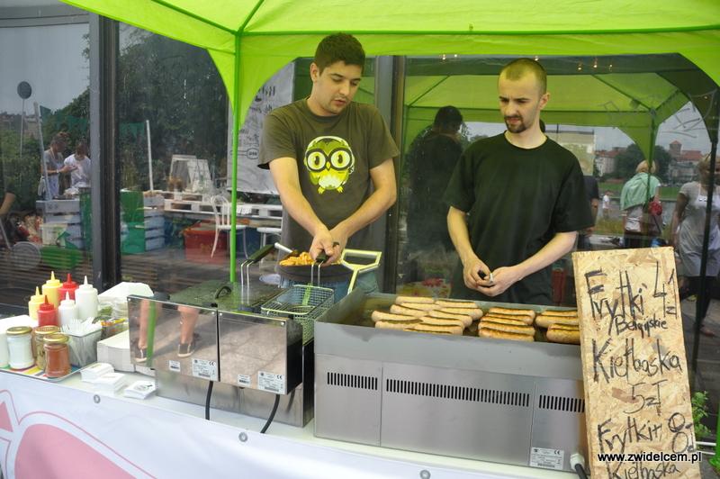 Kraków - Najedzeni Fest! - kiełbaski