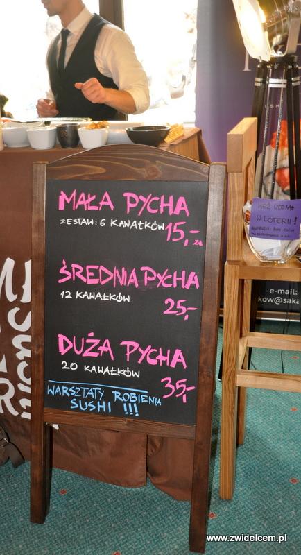 Kraków - Najedzeni Fest!- Sakana Sushi