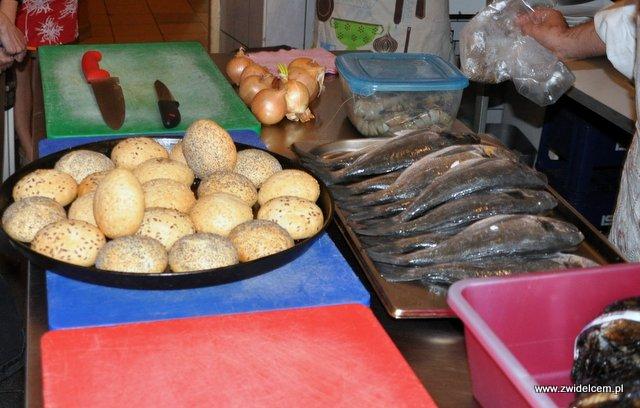 Valparaíso – warsztaty owoce morza - wszystko gotowe