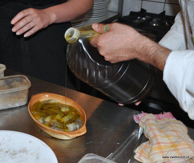 Valparaíso – warsztaty owoce morza – oliwa i krewetki 2