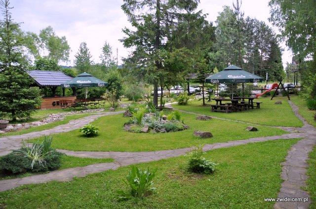 Czarna - Zajazd pod Czarnym Kogutem - ogród
