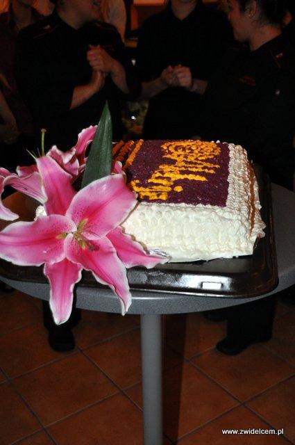 Kraków - Alebriche - urodziny - tort