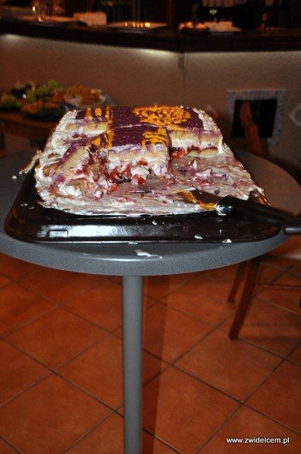 Kraków - Alebriche - urodziny - reszta tortu